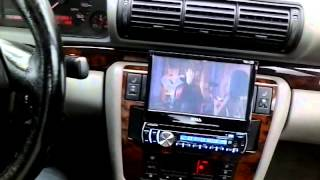 1998 Audi A4 Bose System with Aftermarket Radio/DVD