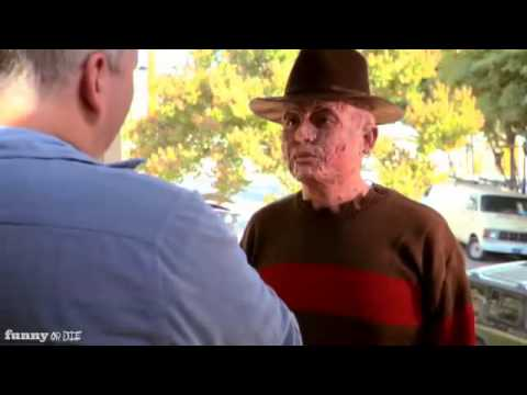 Freddy Krueger  tries to live a normal life!! -  A Nightmare on Elm Street SPOOF