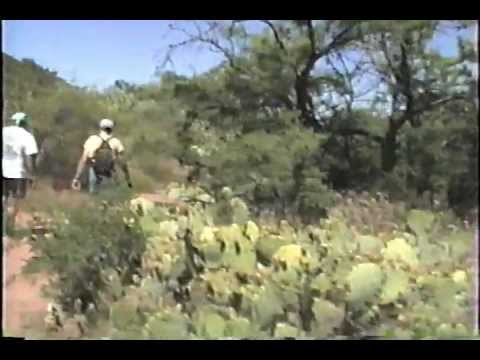 Hiking Arizona 1- Sedona, Apache Maid Trail.wmv