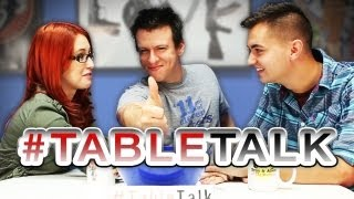 SourceFed Sports Team & The Ultimate Baby on #TableTalk!