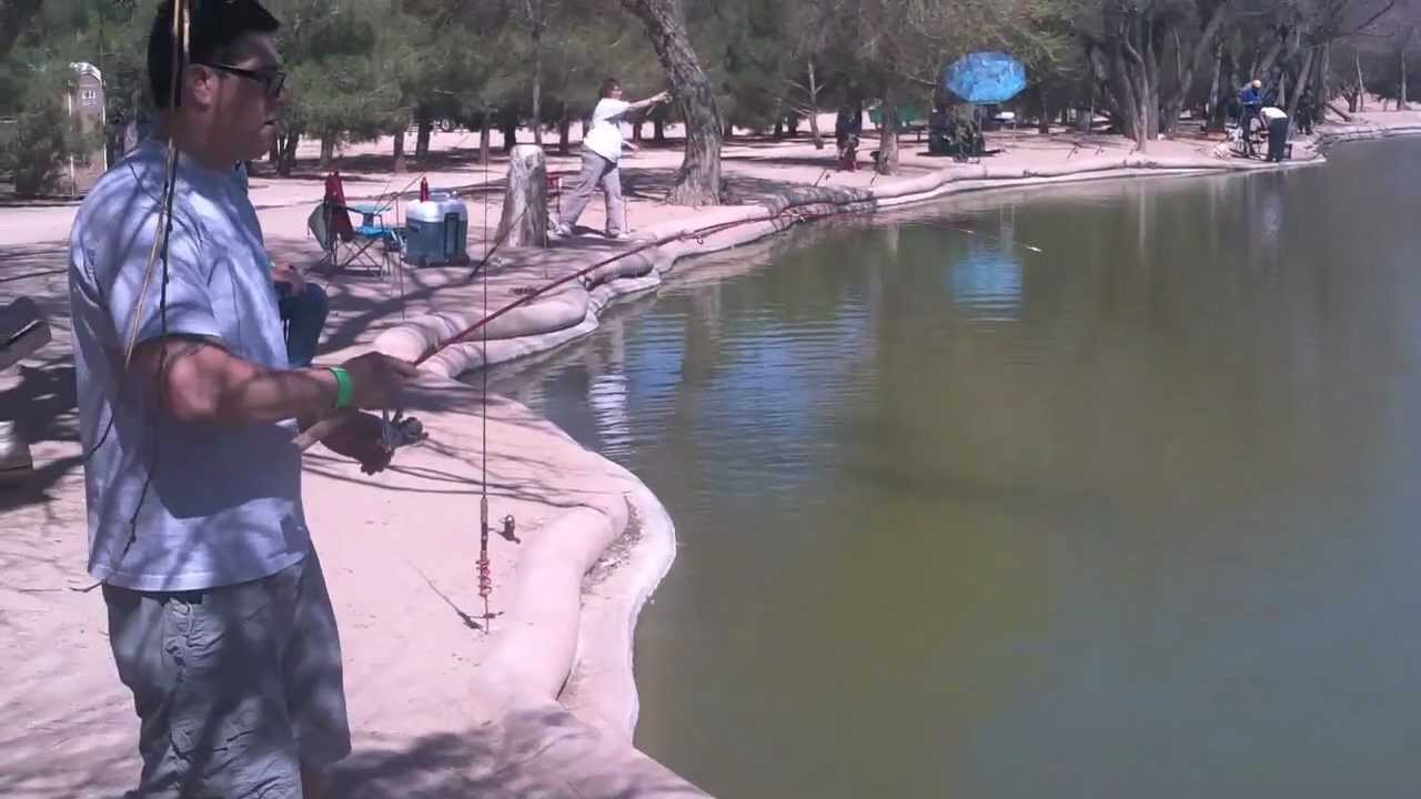 Hesperia Lake Fishing Hesperia Lake With Moone Worms