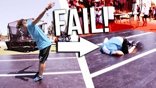STANDING DOUBLE BACKFLIP FAIL! (EN) | Boazvb