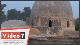 بالفيديو..ضريح «آل طباطبا» آخر آثار الدولة الإخشيدية مهدد بالإنهيار