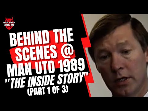 Part 1/3 of this fascinating behind the scenes look at Manchester United FC in 1989. Follow the United stars through a training session as the they prepare f...