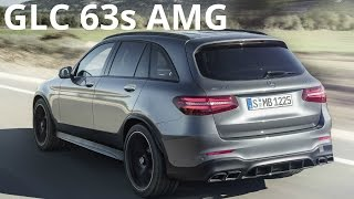 2017 Mercedes GLC 63 S AMG 4MATIC+ - Exhaust Sound, 700 Nm (510 hp)