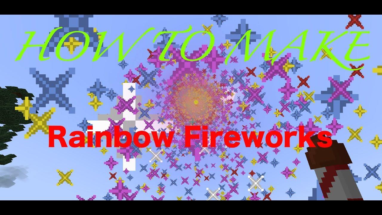 How to Make Rainbow Fireworks