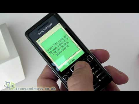 Sony Ericsson C510 unboxing video