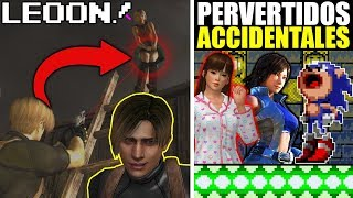 Perverti2 Accidentales en Videojuegos (como Leon de RE4)