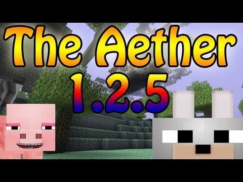 Minecraft Mods - Aether 1.2.5 Pre-Release 1.9 Mod Review and Tutorial ( It's Back! )