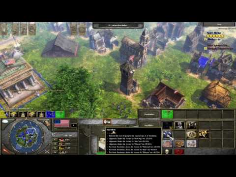 Age of Empires 3 The Napoleonic Era Americans HD First Glance (Part 3 / 3)
