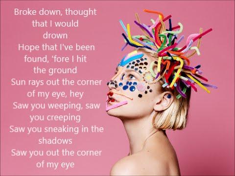 Sia - Reaper   Lyrics on Screen