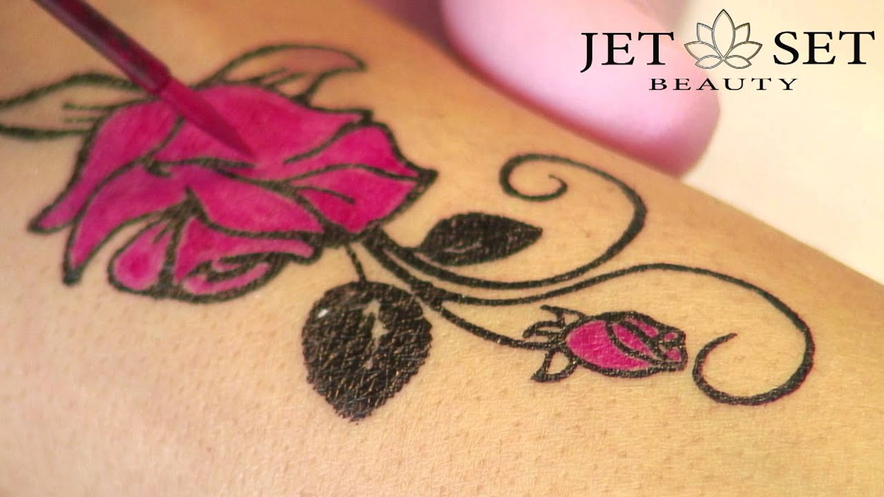 jet set beauty easy stamping tattoos. Black Bedroom Furniture Sets. Home Design Ideas