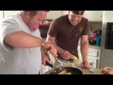 Laughlin boys on cooking