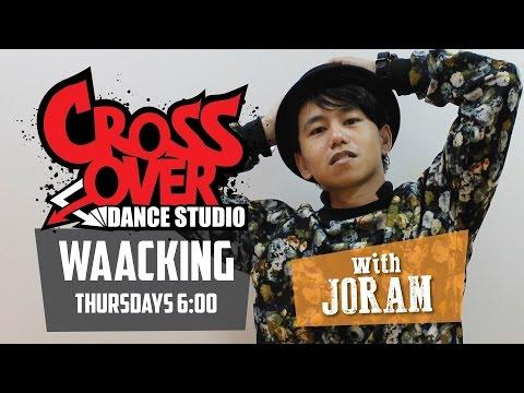 Joram's Waacking Class @ Crossover Dance Studios