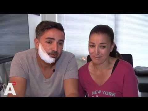 Rachid zwaargewond door vuurpijl bij samenkomst voor Nouri: 'Het leek op een handgranaat'