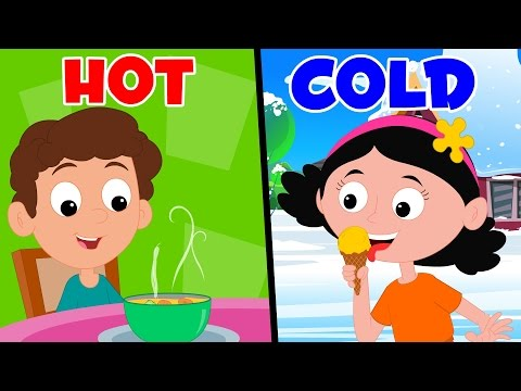 Opposites Song | Preschool Nursery Rhymes For Children