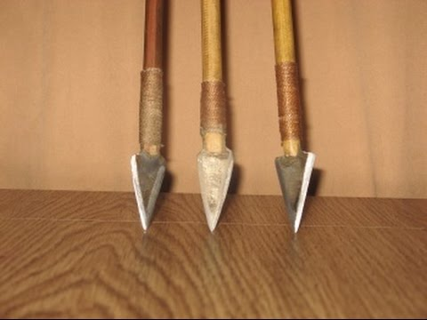 Как сделать наконечники на стрелы