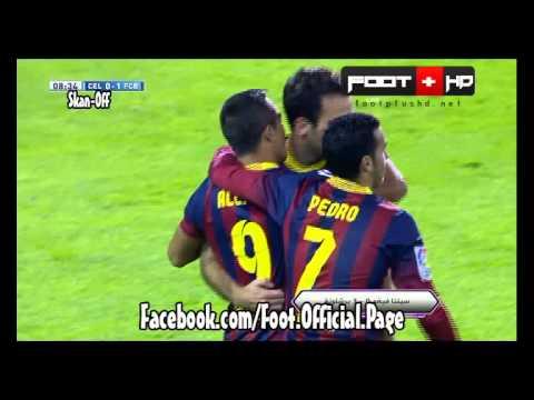 Celta Vigo 0-3 Barcelona #All Goals