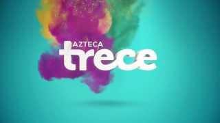 Logotipo principal XHDF TV 2015 Azteca Trece