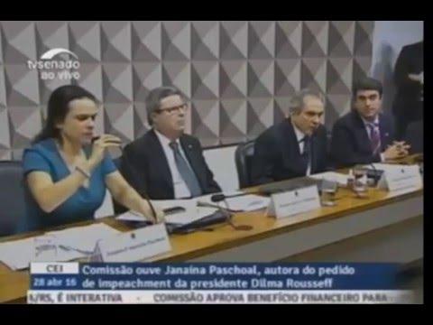 CEI 2016 - Comissão Especial do Impeachment - Senador Magno  Malta
