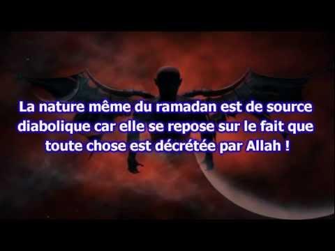 Le Ramadan est un hommage au diable !