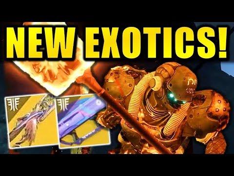 Destiny 2: NEW FORSAKEN DLC EXOTICS! - Void Sword! - Thorn Returning? thumbnail