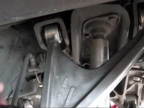 corvette install poly bushings rear upper control arm