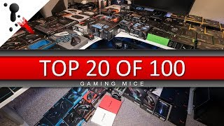 Top 20 of 100 Gaming Mice 2017 (for FPS)
