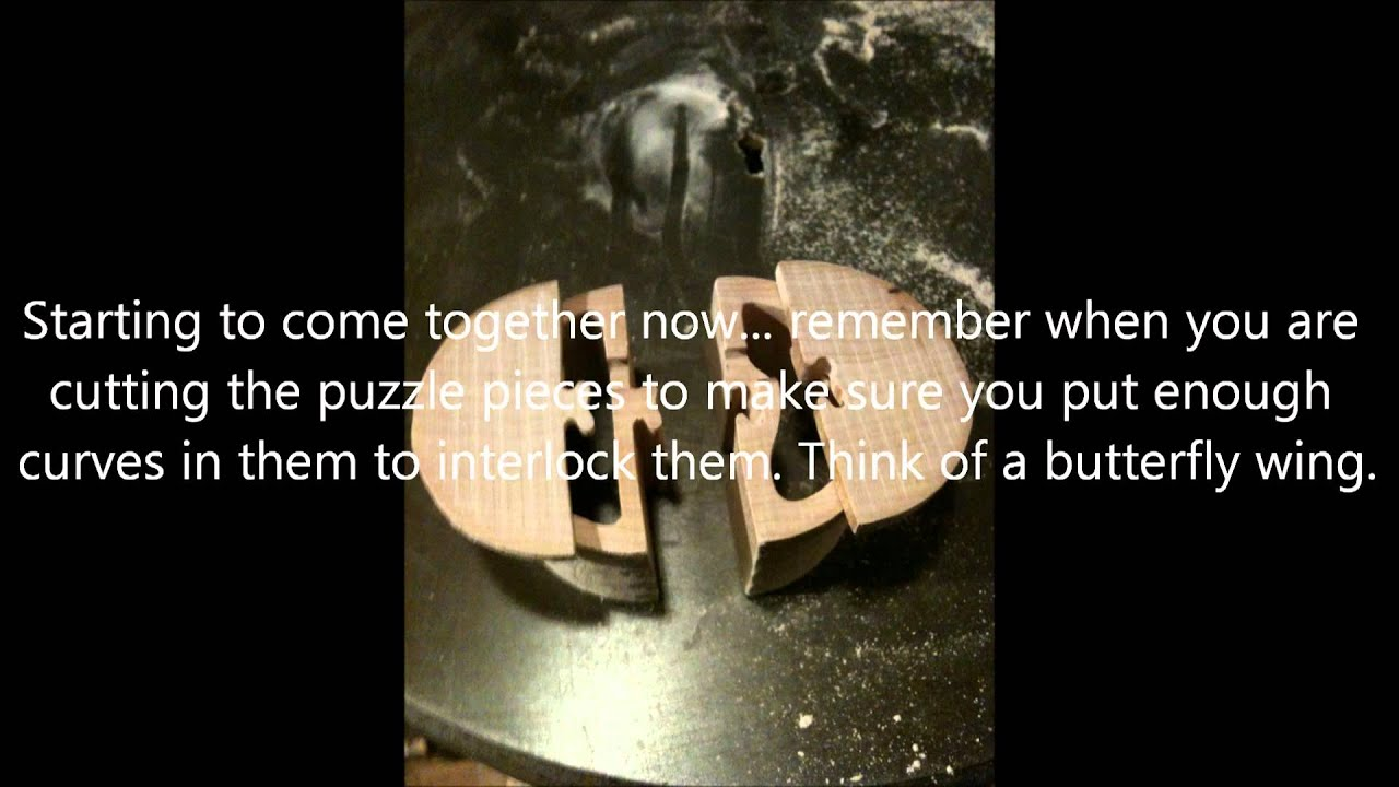 How to make a scrollsawed Puzzle Box. - YouTube