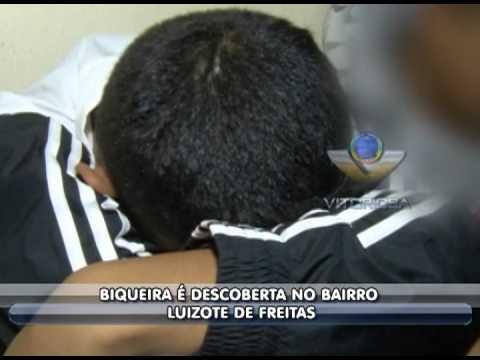 PM apreende dois menores em biqueira no Luizote