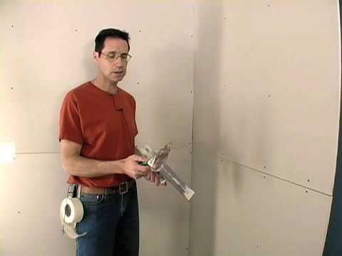 How to Tape Drywall Seams