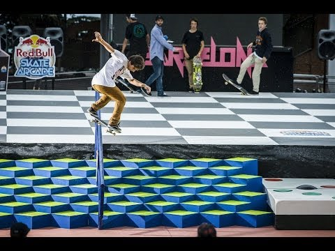 Los Angeles Skate Session - Red Bull Arcade Winner's Trip