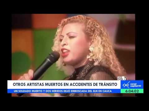 Cantantes vallenatos muertos en accidentes de tránsito