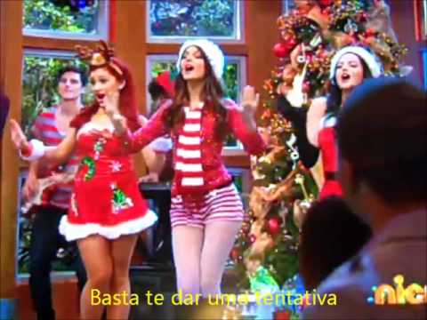 Victorious Cast - It's Not Christmas Without You (legendado) video