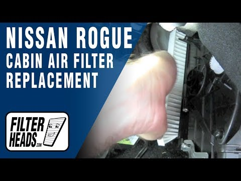 Cabin air filter replacement- Nissan Rogue