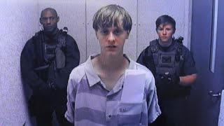 Chilling moments from Dylann Roof