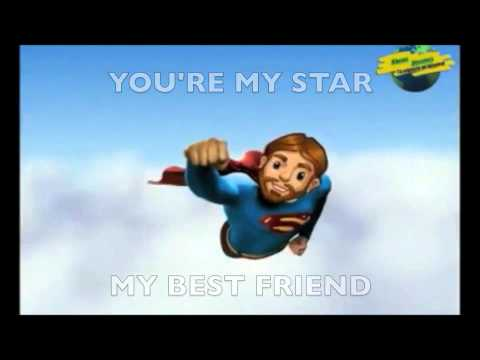 Jesus You're My Superhero-lyrics-karaoke video