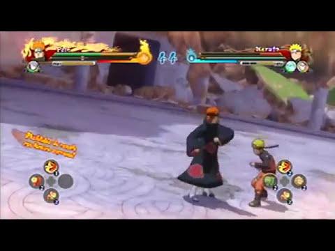 Tecnicas supremas por equipos Naruto Shippuden Ultimate Ninja Storm