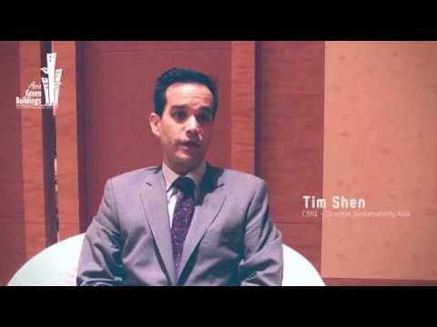 The Future Sustainable and Green Property Industry across Asia | CBRE | Tim Shen