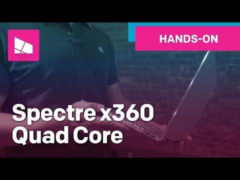 HP Spectre x360 13 hands-on (2017 8th-Gen Intel CPU)