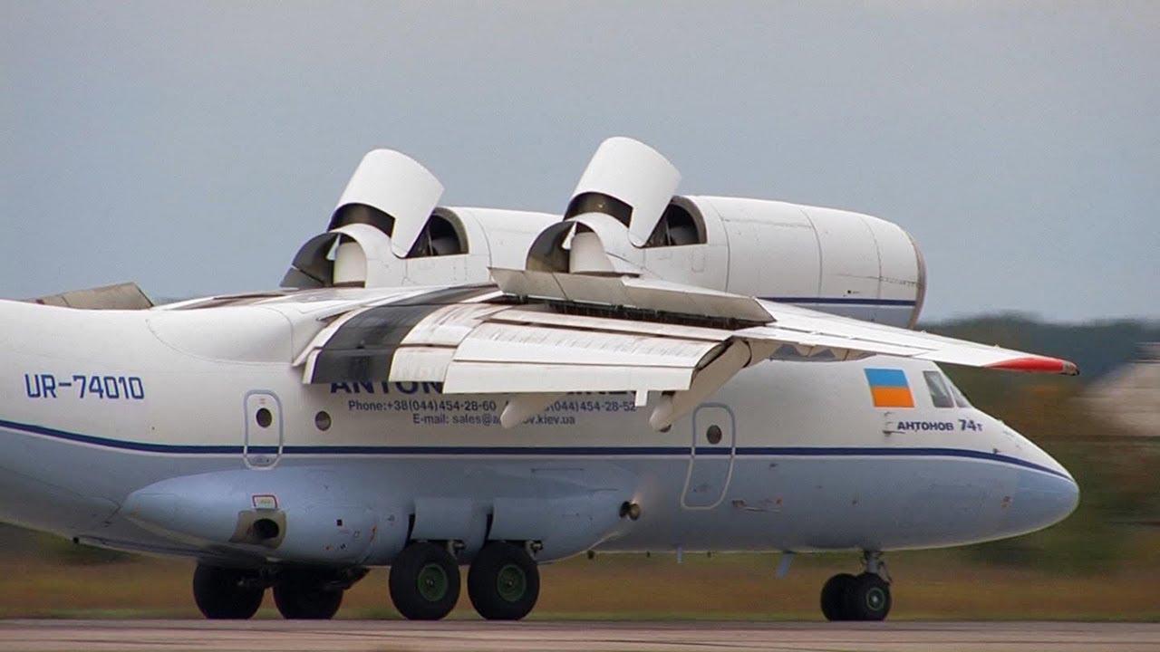 Антонов Ан-74Т Авиасвит 2010 Ан-74 Antonov An-74T Aviasvit ...