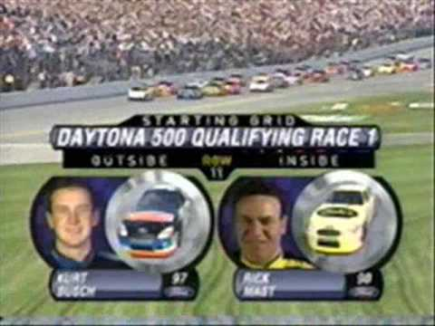 2002 Gatorade 125s - Race 1 (Part 1) (Starting Lineup) Video
