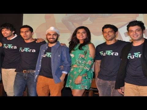 Audio Release Of 'Fukrey' In New Delhi