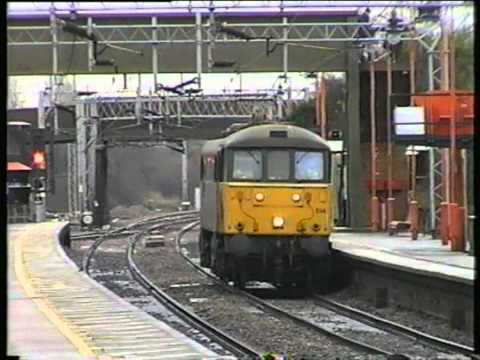 Class 121 Bubble Cars working the Marks Tey to Sudbury line in March 1998. A look at the GE Mainline sees class 317 standing in on Anglia Railways boat train...