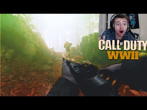 CALL OF DUTY: WORLD WAR 2 ! RÉACTION GAMEPLAY TRAILER !