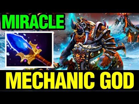 MECHANIC HERO TO THE MECHANIC GOD! - MIRACLE- MAGNUS - Dota 2