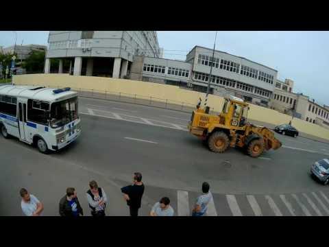 Мкад 6км арест автомобилей членов опр
