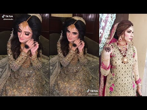 Real Bride  Bridal makeup  Every Bride During Bridal Make up  Brides Pakistani