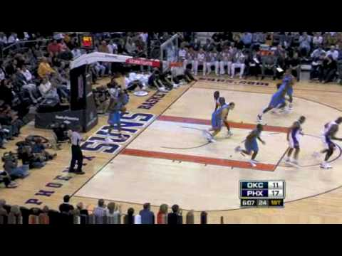 Oklahoma City Thunder vs. Phoenix Suns 20/02/2009 (Highlights)