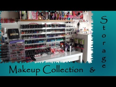 Makeup Collection and Storage Update 2013